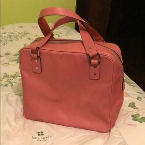 Vintage Kate Spade handbag- gorgeous pink!